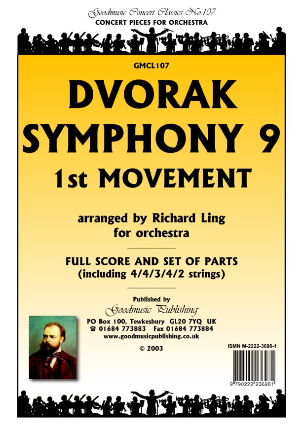 Symphony 9 1st Movt (arr.Ling) Bsns image