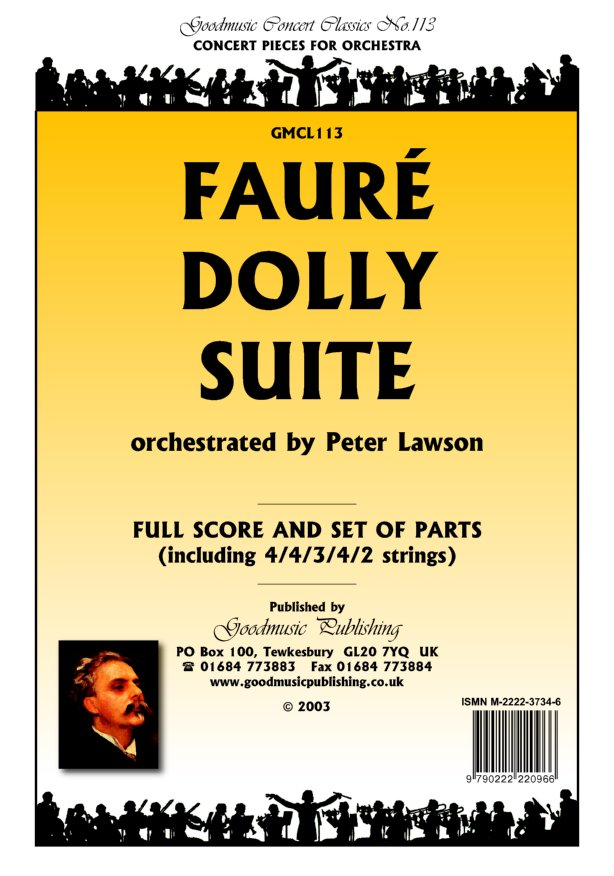 Dolly Suite (arr.Lawson)  Pack image