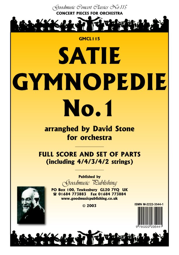Gymnopedie No.1 (arr.Stone)  Pack image