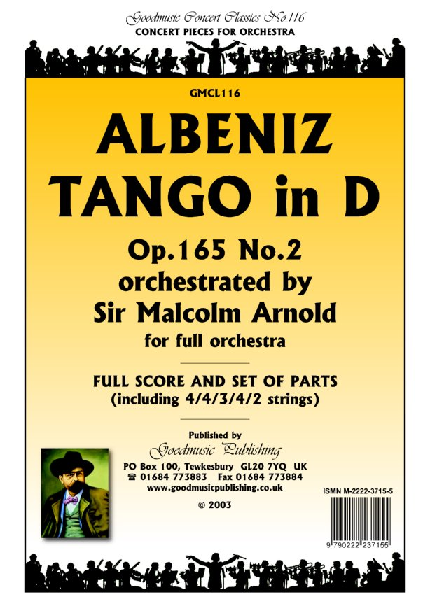 Tango (arr.Arnold)  Pack image