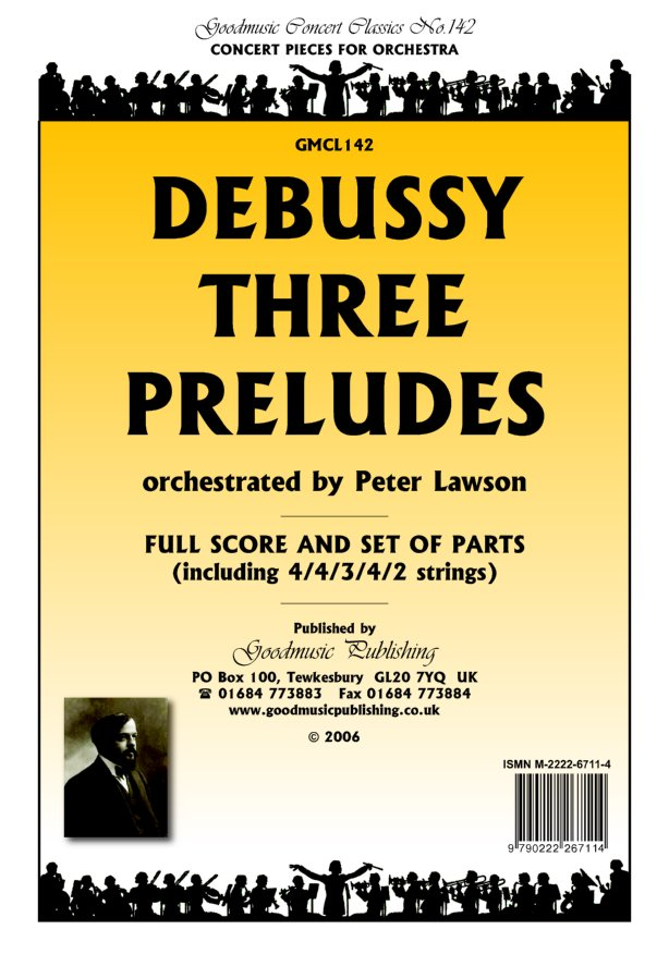Three Preludes (arr.Lawson)  Pack image
