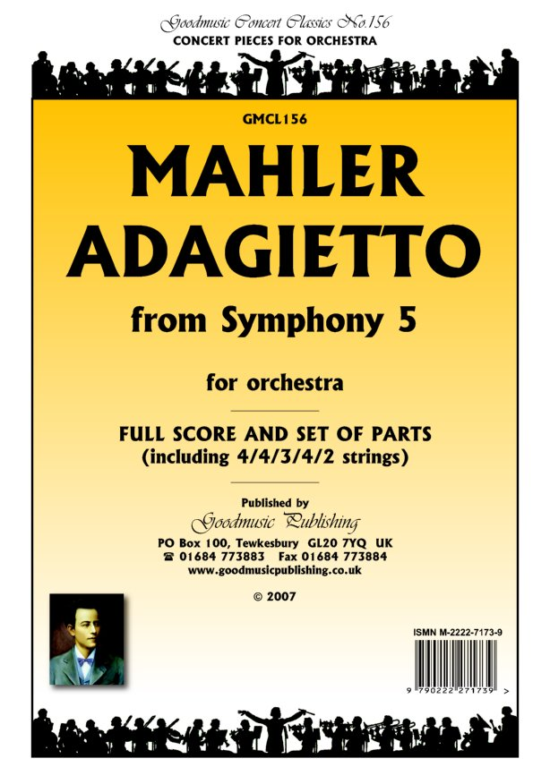 Adagietto from Symphony 5  Pack image