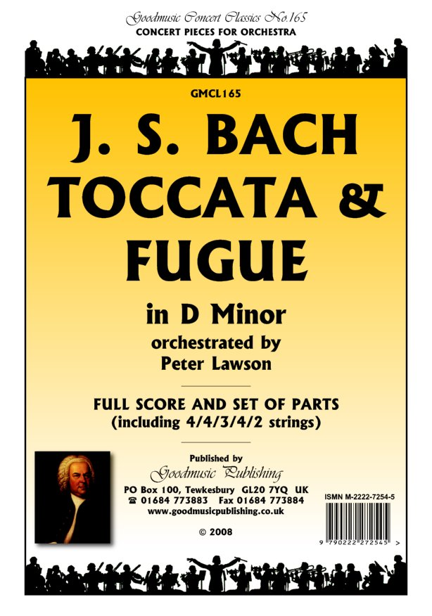 Toccata and Fugue in Dm  Pack image