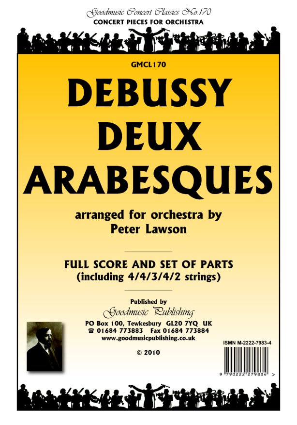 Deux Arabesques (arr Lawson) Cl 1 image