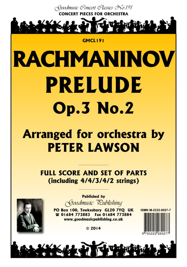 Prelude Op.3 No.2 arr.Lawson  Pack image