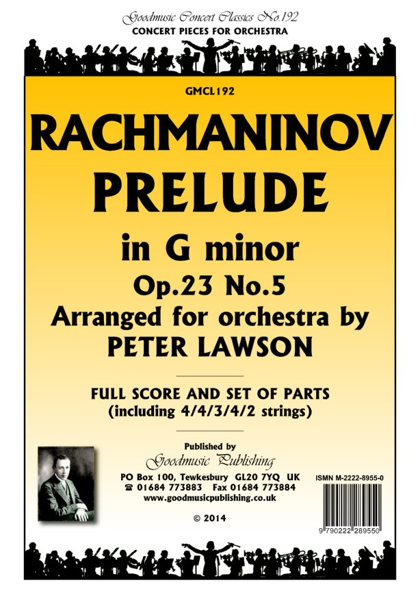Prelude Op.23 No.5 arr.Lawson  Pack image