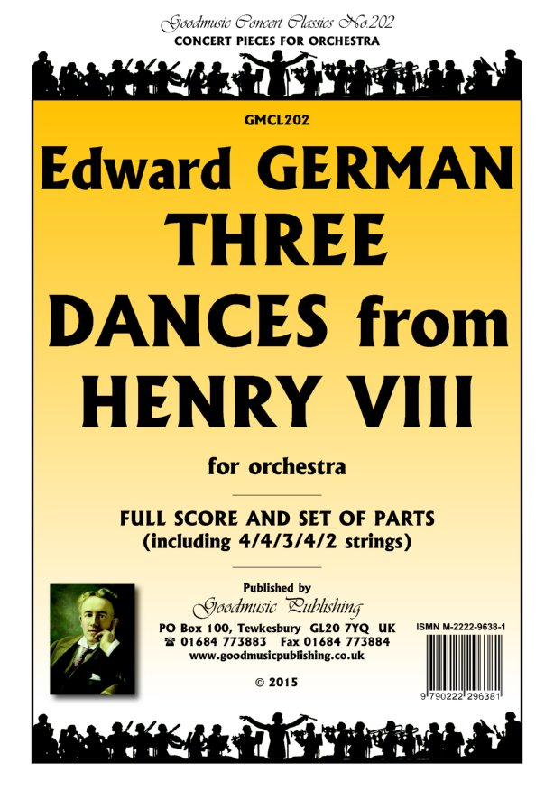 Three Dances from Henry VIII  Pack image