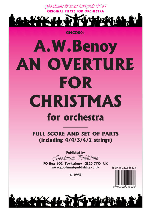 Overture for Christmas Clarinet 1 image