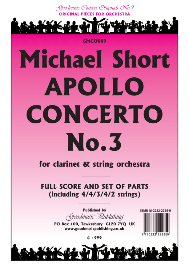 Apollo Concerto 3 (clarinet)  Pack image