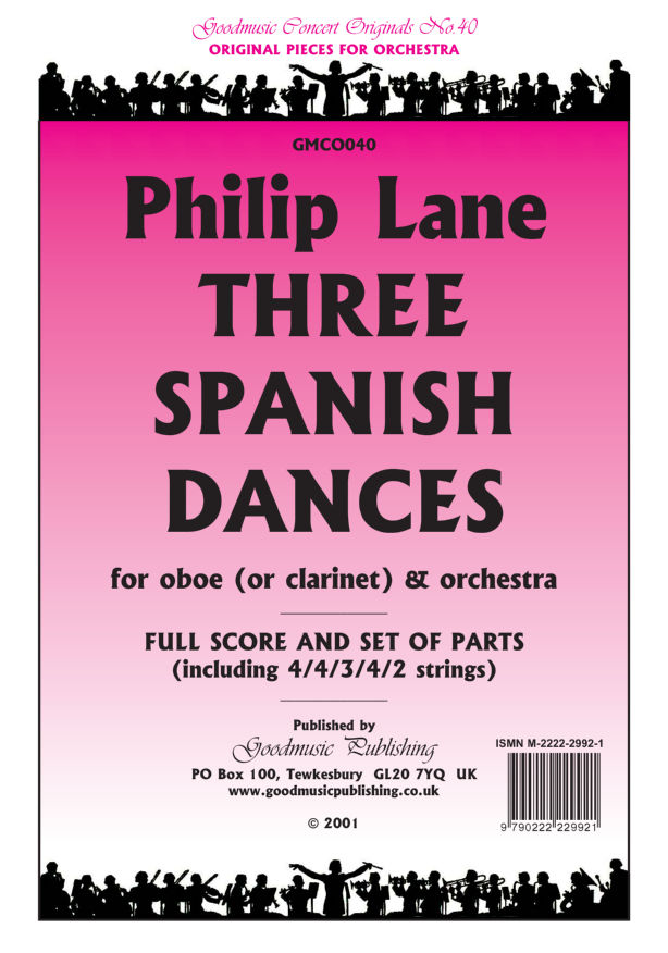 Three Spanish Dances  Pack image