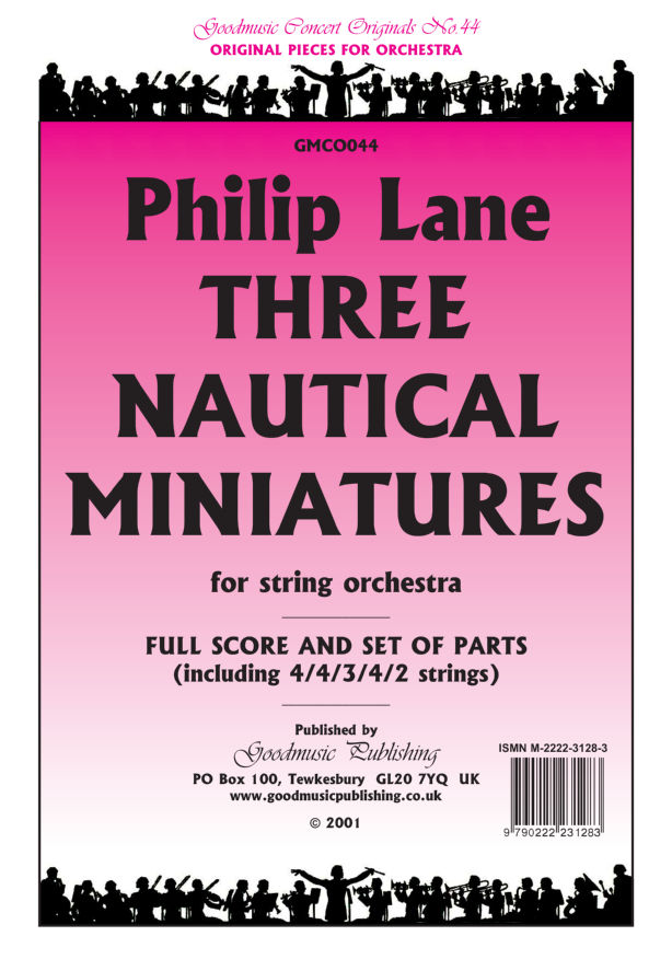 Three Nautical Miniatures  Pack image