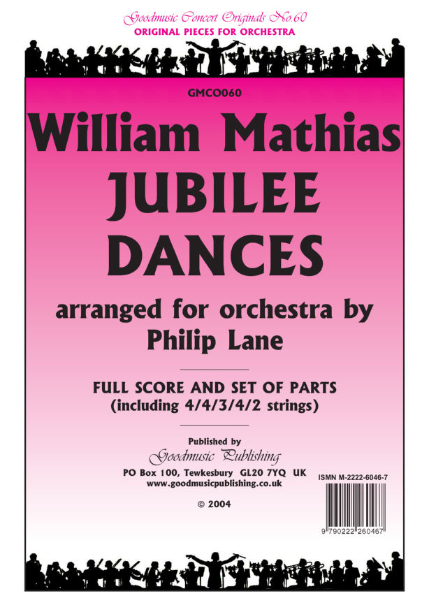 Jubilee Dances (arr.Lane)  Pack image