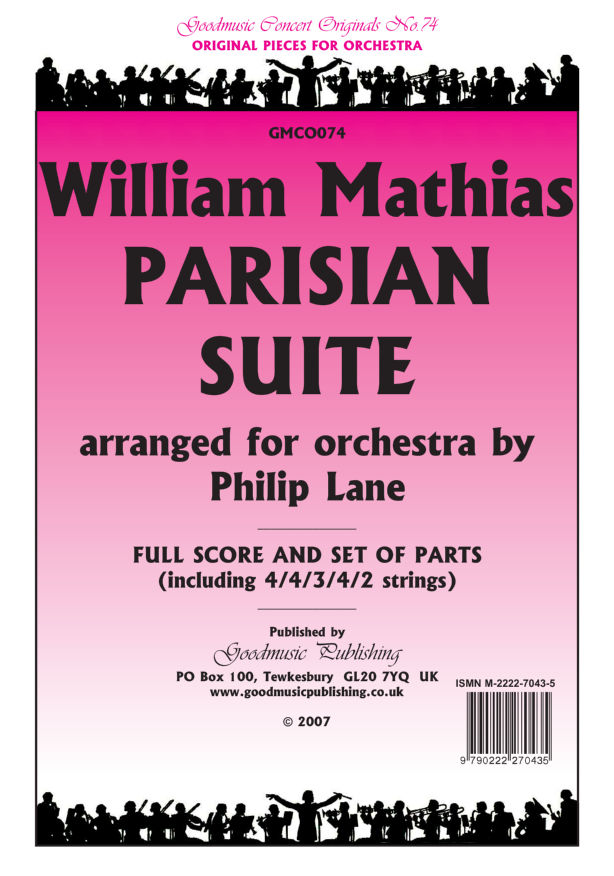 Parisian Suite (arr.Lane)  Pack image