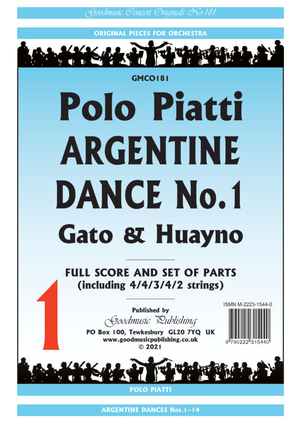 Argentine Dance No.1  Pack image