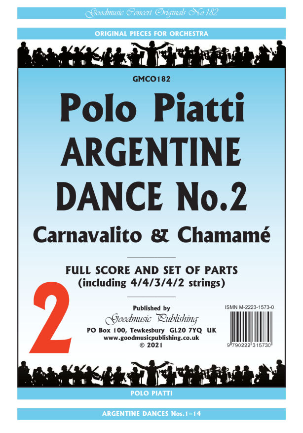 Argentine Dance No.2  Pack image