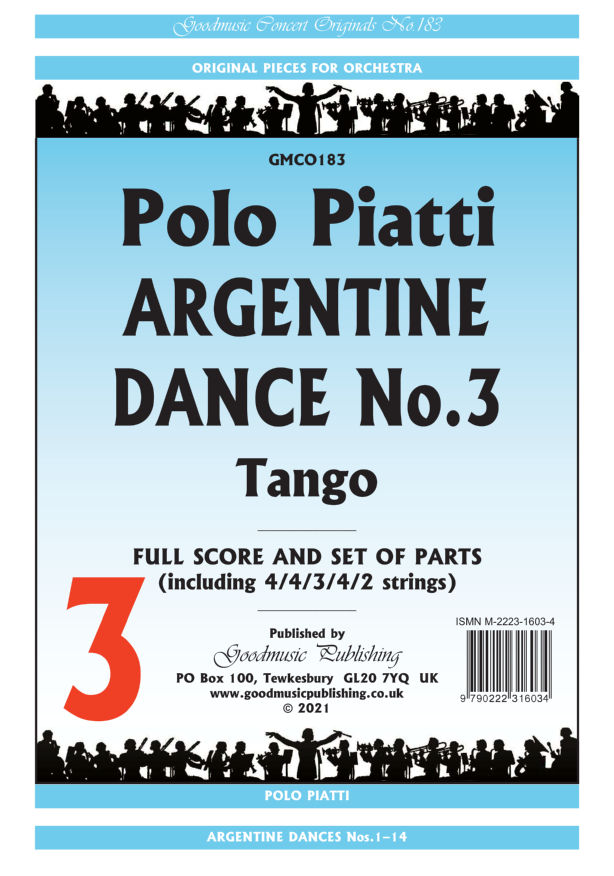 Argentine Dance No.3  Pack image