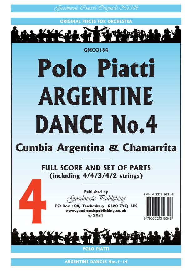 Argentine Dance No.4  Pack image