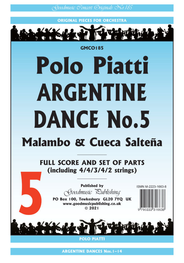 Argentine Dance No.5  Pack image