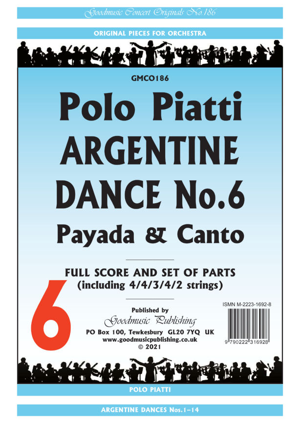 Argentine Dance No.6  Pack image