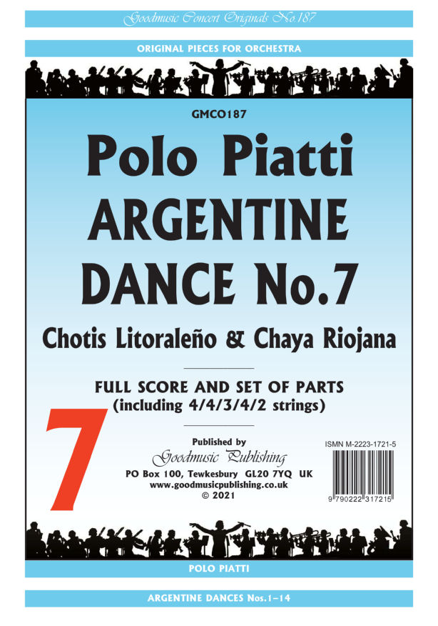 Argentine Dance No.7  Pack image