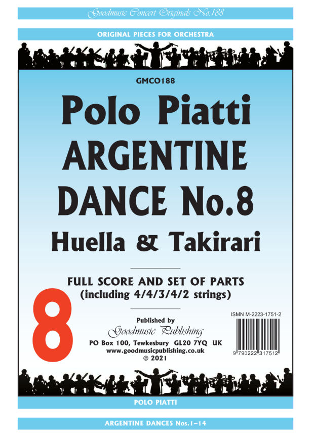Argentine Dance No.8  Pack image