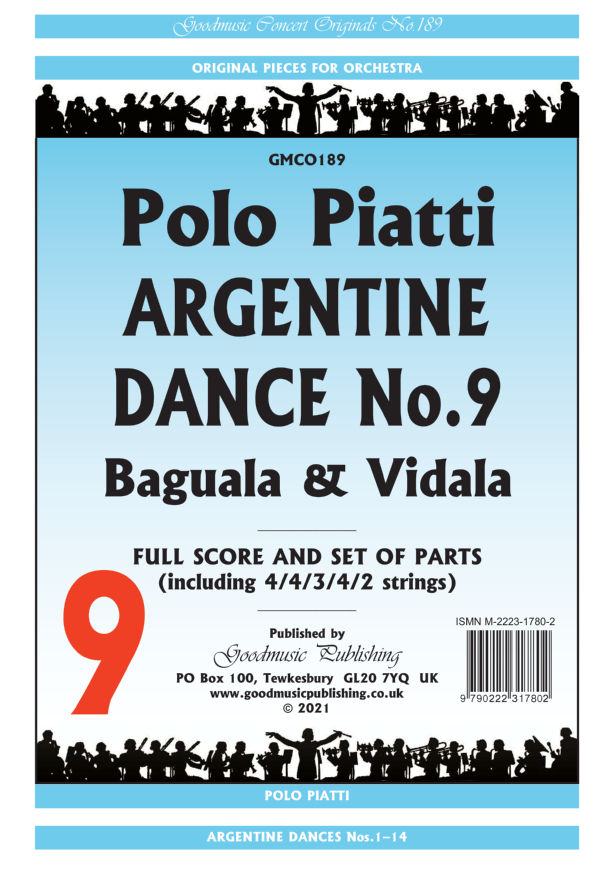 Argentine Dance No.9  Pack image