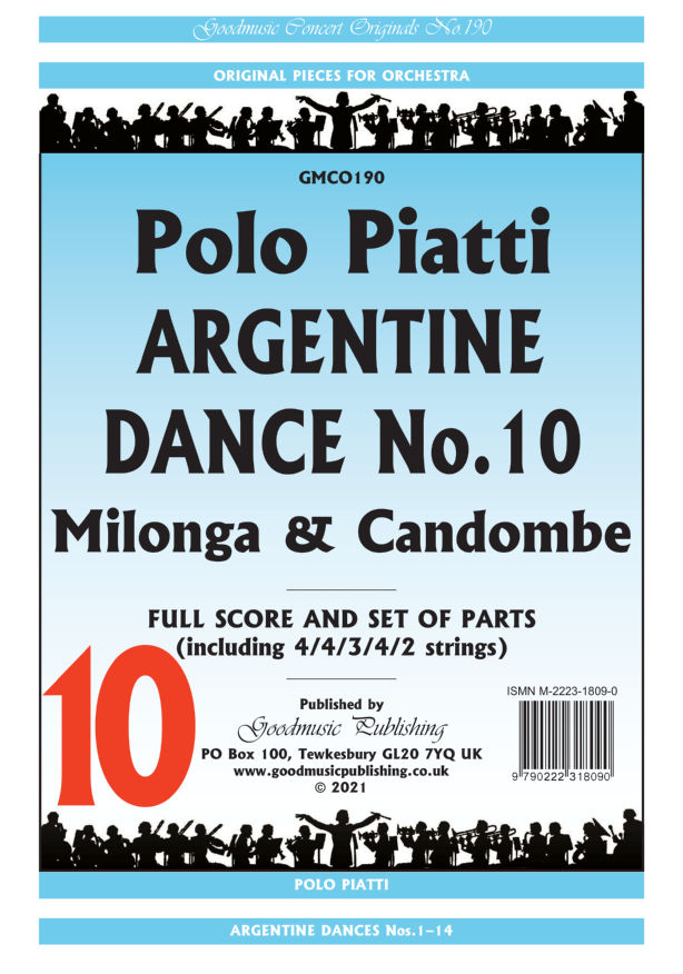 Argentine Dance No.10  Pack image