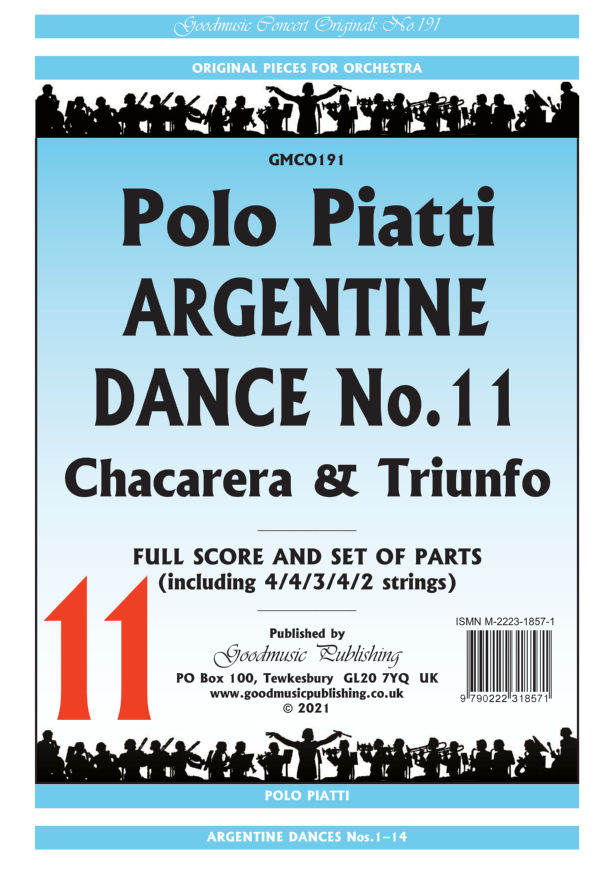 Argentine Dance No.11  Pack image