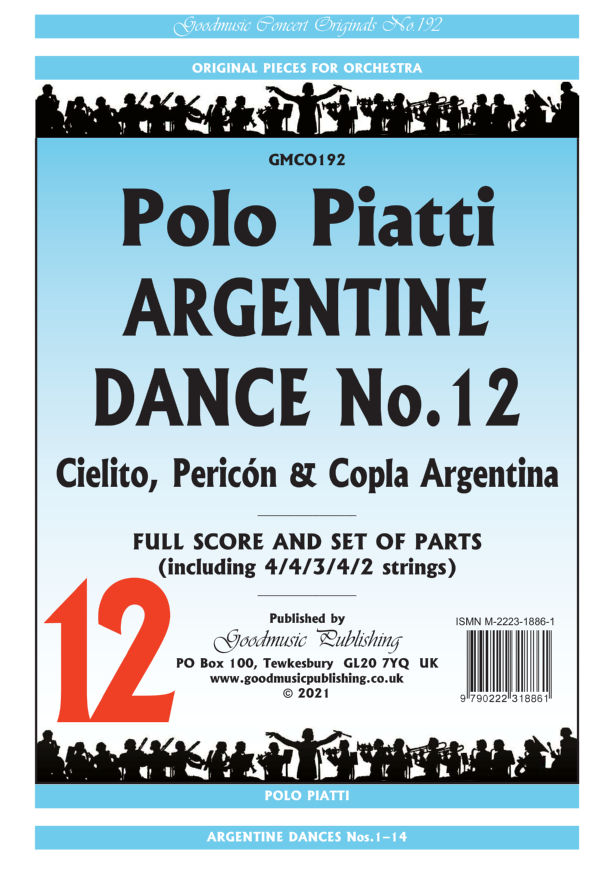 Argentine Dance No.12  Pack image