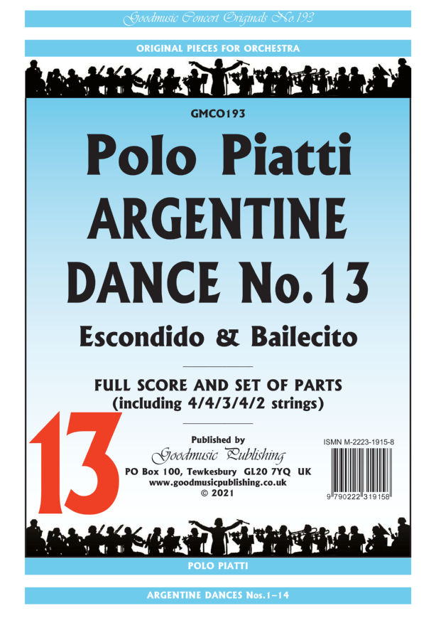 Argentine Dance No.13  Pack image