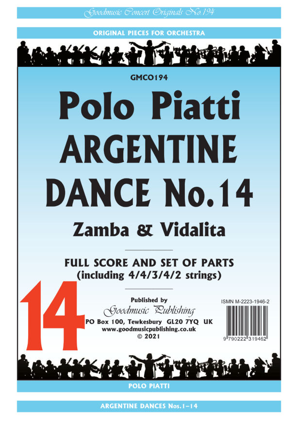 Argentine Dance No.14  Pack image