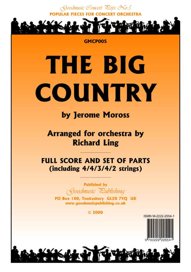 Big Country Theme (arr.Ling)  Pack image