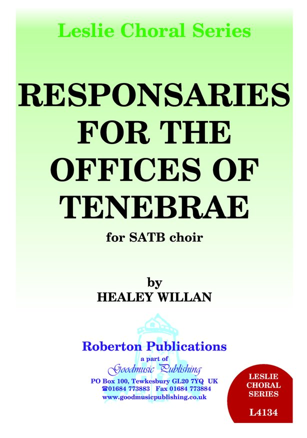 Reponsaries for...Tenebrae image