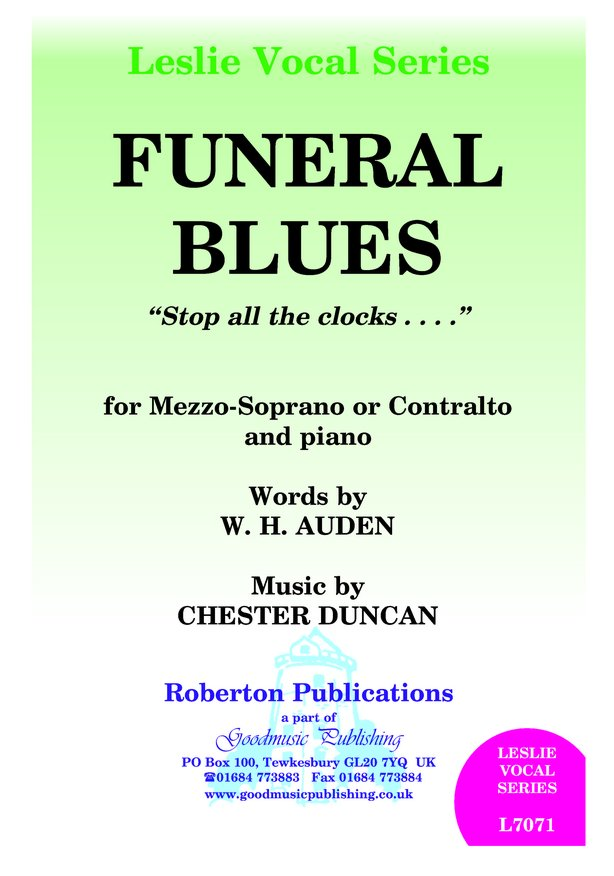 Funeral Blues image